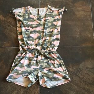 Camo romper from children's place
